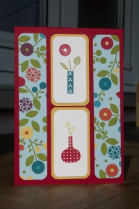 Stampin Up Bright Blossoms Sommerparty