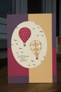 Stampin Up Luftpost