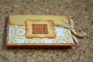 StampinUp Umschlag mit Zierlasche
