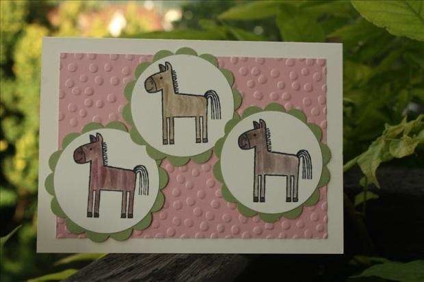 StampinUp_Bastelig-ES_Karte-Einschulung_Pferde_TierischeGrüße